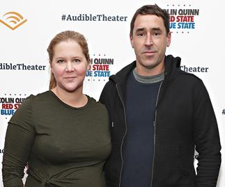 """Amy Schumer and husband Chris Fischer welcome their very own """"royal baby"""""""