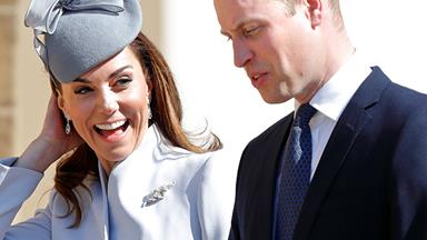Prince William and Duchess Catherine share sweet message for Baby Sussex - and reveal whether they've already met him!