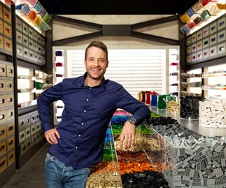 Hamish Blake admits to causing drama on LEGO Masters