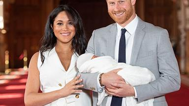 FIRST PHOTOS: Duchess Meghan and Prince Harry introduce their new royal baby to the world