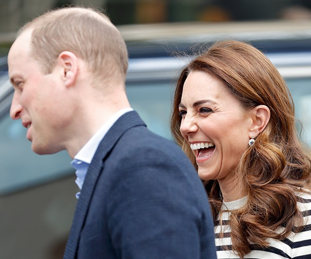 NEW VIDEO: Duchess Catherine and Prince William just dished some hilarious parenting advice for Meghan and Harry and it's sent fans wild