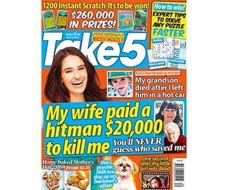 Take 5 Issue 20 Entry Coupon