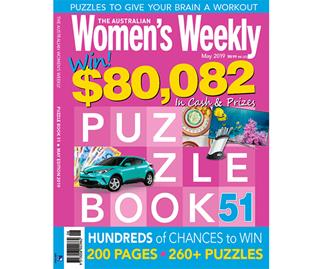 The Australian Women's Weekly Puzzle Book Issue 51