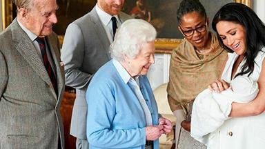 The hidden meaning behind this powerful photo of The Queen meeting Archie