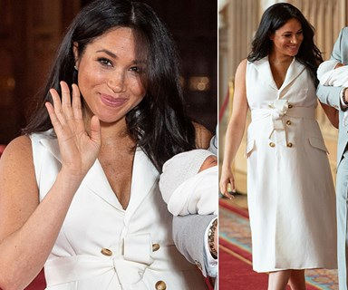 The incredible message behind Meghan Markle's white dress we all missed