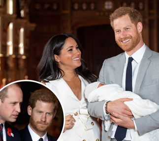 Could baby Archie end the royal feud between the Cambridges and the Sussexes?