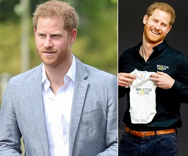 Prince Harry talks about Princess Diana in emotional first public outing since welcoming son