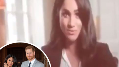 Secret video message of Meghan Markle emerges just days after she gave birth