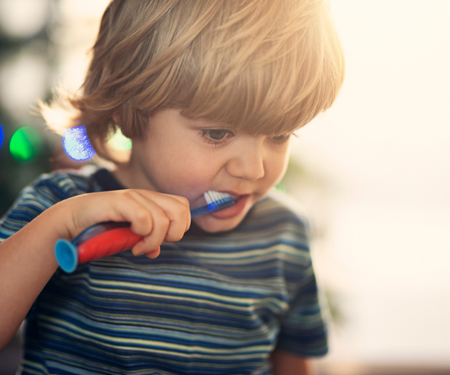 Toothpaste and date nights: Life with a three-and-a-half-year-old