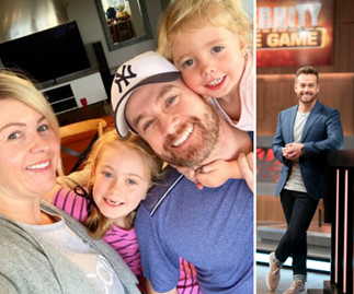 "EXCLUSIVE: Grant Denyer reveals how his daughters saved him from his ""miserable"" dark days"