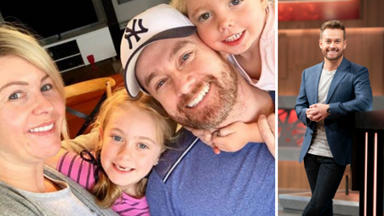 """EXCLUSIVE: Grant Denyer reveals how his daughters saved him from his """"miserable"""" dark days"""