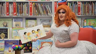 Drag queen causes outrage at children's story time