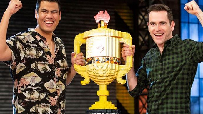 Fans overjoyed for LEGO Masters winners Henry and Cade
