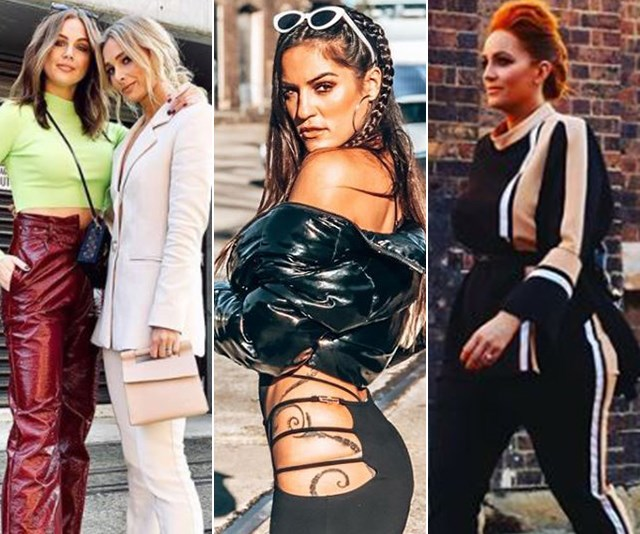 These Aussie reality TV celebs have shown up to Fashion Week in the wildest outfits - see them all