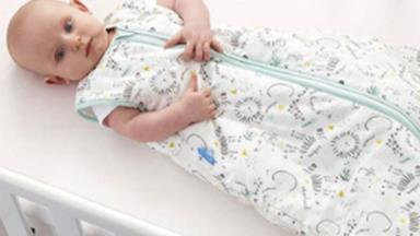 Choosing the right baby sleeping bag for the temperature