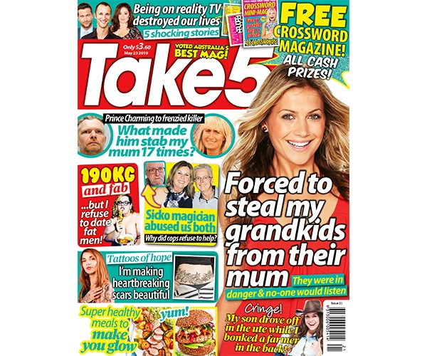 Take 5 Issue 21 Entry Coupon