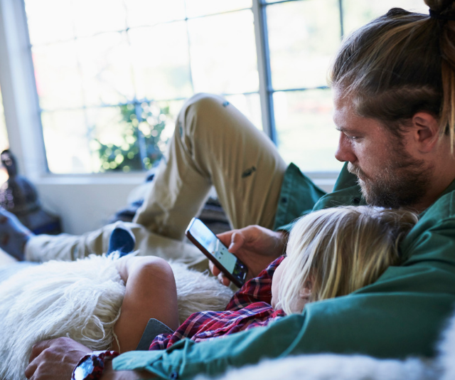Striking a healthy screen-time balance with your three-year-old