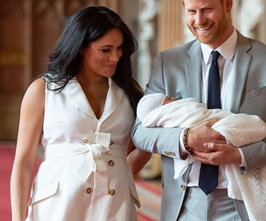 A beautiful secret letter written by Duchess Meghan the day before she gave birth emerges