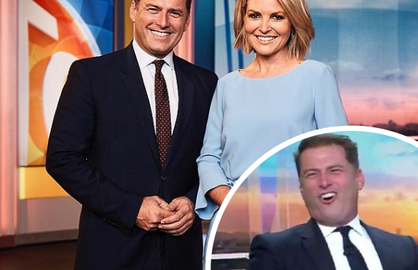 Georgie Gardner's VERY cheeky dig at Karl Stefanovic will have you cheering
