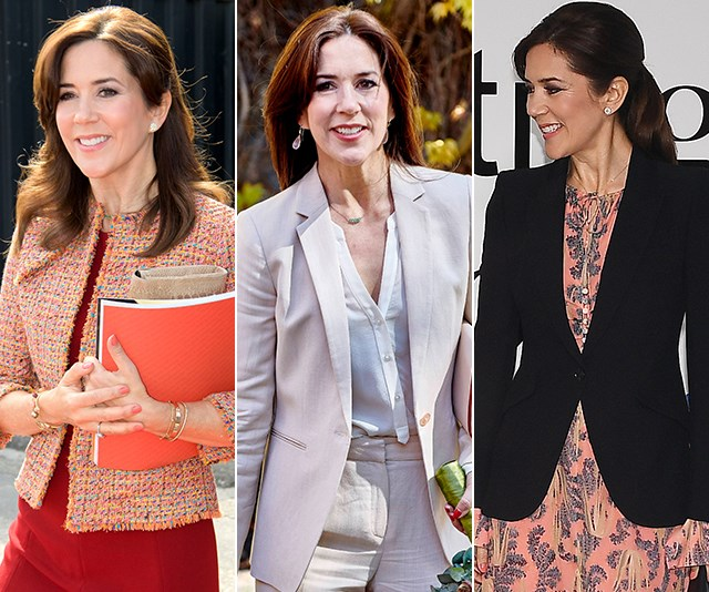 Crown Princess Mary ups the style stakes in THREE dazzling new outfits at Fashion Summit