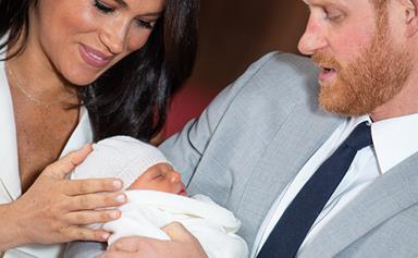 Roll out the red carpet! Baby Archie just had a VERY important guest visit for the first time