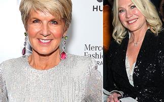 Julie Bishop and Kerri-Anne Kennerley just debuted incredible new looks at Fashion Week