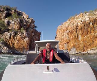 The new season of Ernie Dingo's travel show looks so delightfully wholesome