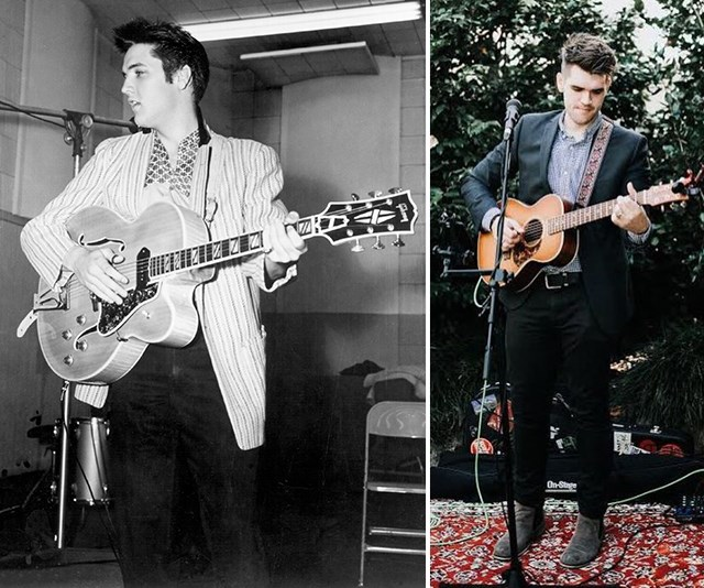 This Voice contestant is Elvis Presley's grandson!