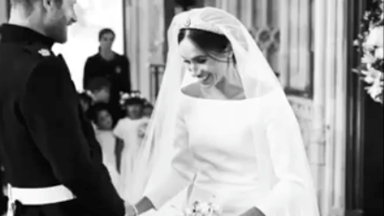 UNSEEN ROYAL WEDDING VIDEO: Meghan and Harry just dropped a beautiful behind-the-scenes clip from their big day