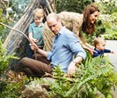 UNSEEN ROYAL FOOTAGE: Prince George, Louis and Princess Charlotte explore mum Kate's newly designed garden in ADORABLE new clip