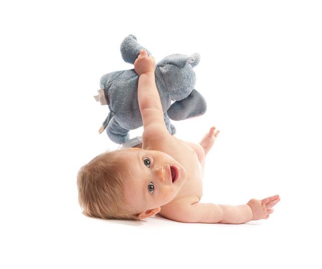 5 month old: When will your baby sit up?