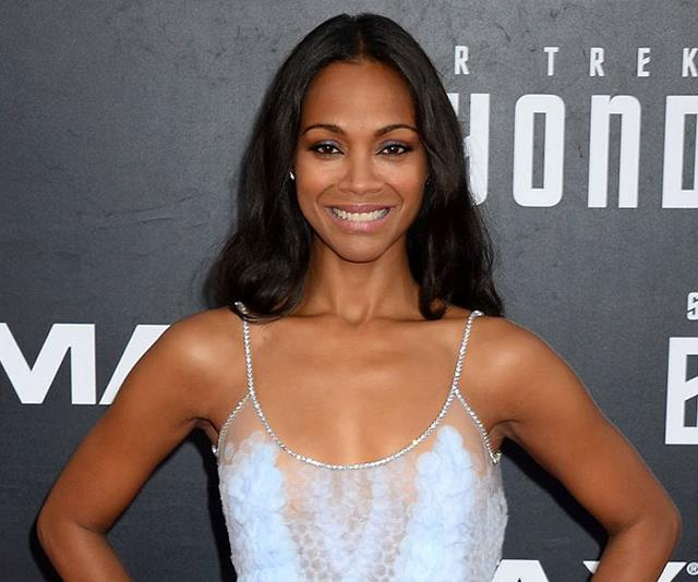Zoe Saldana to star in romantic drama Keyhole Garden - directed by her husband!
