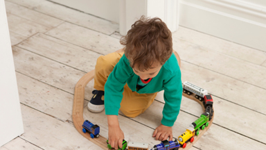 Toddler alone time: Tips for playtime and development