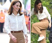 Just quietly, Kate Middleton's chic white sneakers are super cheap and we're buying them immediately