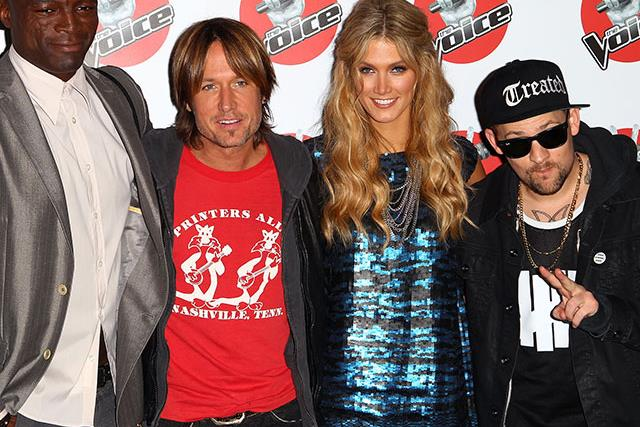 A look back at every single coach on The Voice Australia