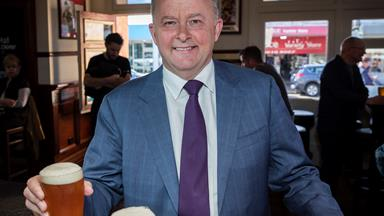 "Meet ""Hot Albo"", Anthony Albanese's seriously handsome younger self"