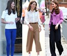 Kate Middleton's best style moments in pants - from wide legged glory days to skinny jean dreams