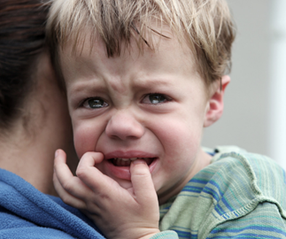 Toddler fears and phobias
