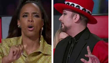 Boy George and Kelly Rowland face backlash from Voice fans after explosive fight