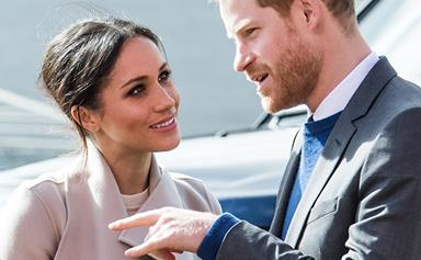 Duchess Meghan had a thing for British men before Prince Harry came along