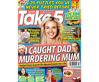Take 5 Issue 22 Entry Coupon