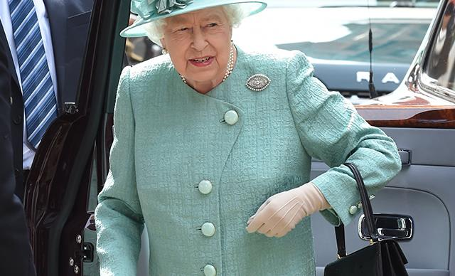 The Queen just popped into a supermarket - and yes, you read that right