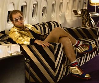 Taron Egerton pays tribute to Elton John with an unflinching portrayal in Rocketman