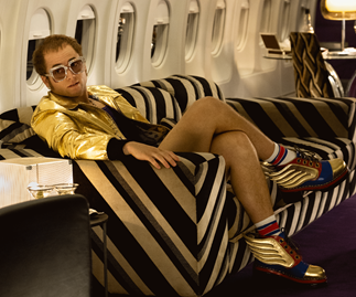 Taron Egerton pays tribute to Elton John with an unflinching portrayal in Rocketman