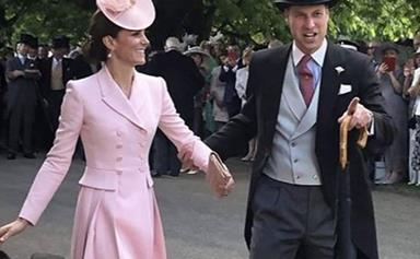 The incredible story behind this rare dancing photo of Kate and Wills will warm your heart