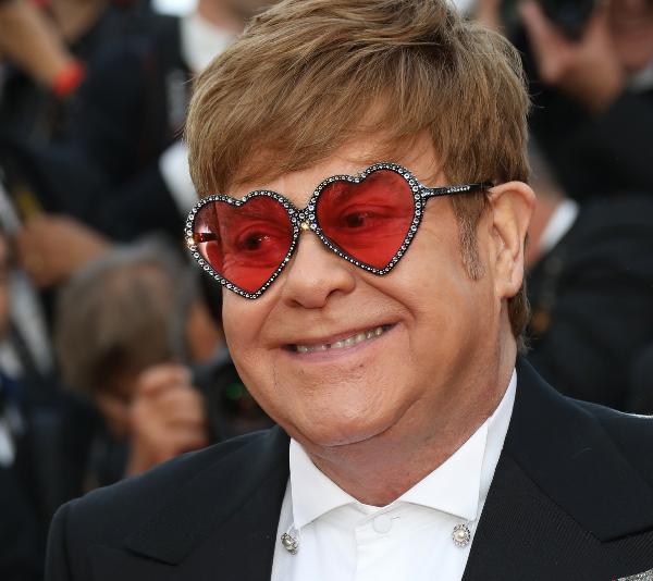 Elton John at Canne Film Festival, 2019.