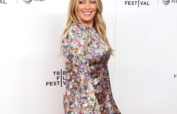 Hilary Duff is shredding for the wedding!