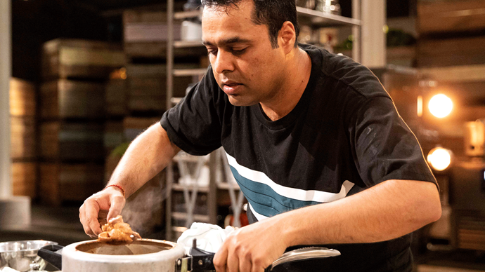 "MasterChef's Sandeep reveals: ""I auditioned for Indian Idol"""