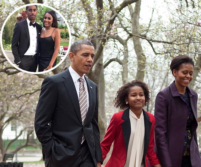Barack Obama's youngest daughter Sasha is all grown up in stunning new prom pictures