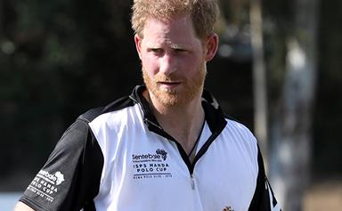 "Prince Harry was spotted and snapped on a plane looking ""very tired"" by a royal fan"